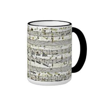 """Chopin's """"Polonaise"""" Ringer Mug"""