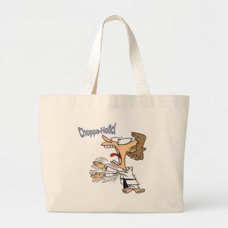 Choppa-Holic Tote Bags