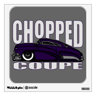 Chopped Coupe Wall Sticker