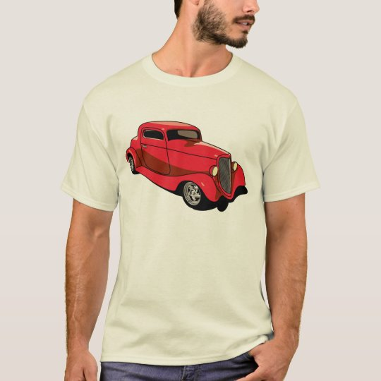 Chopped Red Coupe T-Shirt