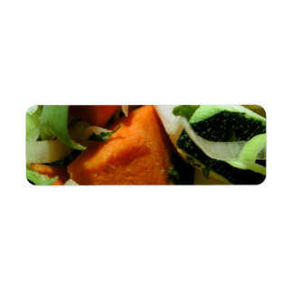 Chopped Salad Labels