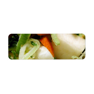 Chopped Salad Custom Return Address Label