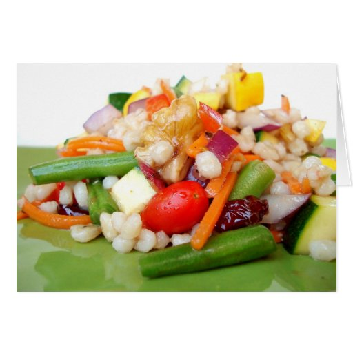 Chopped Salad Note Card - Customized - Customized