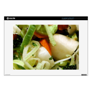 """Chopped Salad 15"""" Laptop Decals"""