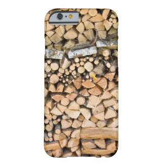 Chopped wood on a pile barely there iPhone 6 case