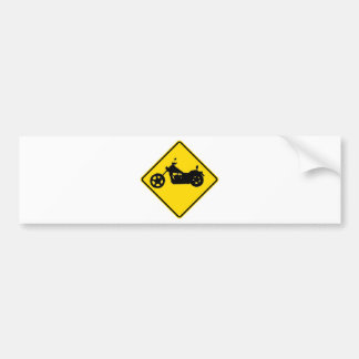 """""""Chopper bike"""" Bumper Sticker"""