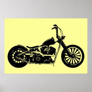 Chopper Bike Poster