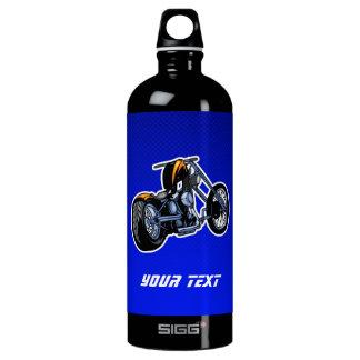 Chopper; Blue Water Bottle