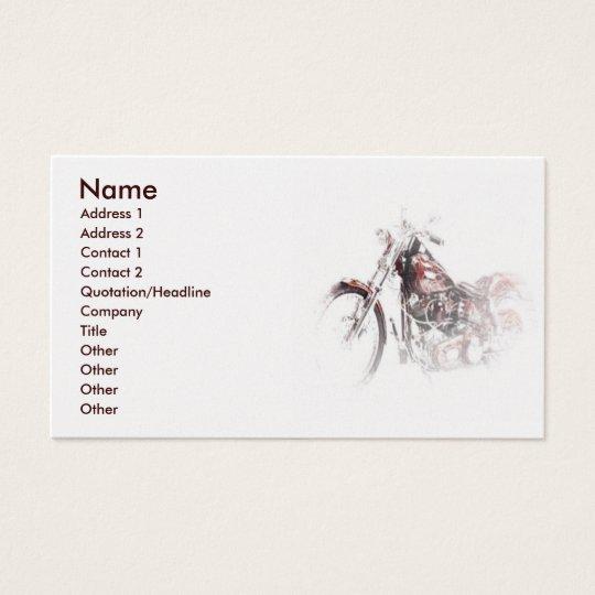 Chopper Business Card