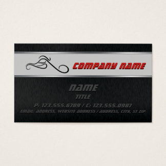 Chopper Business cards