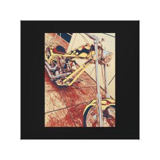Chopper Canvas Digital art