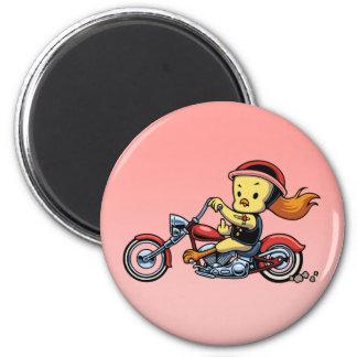 Chopper Chick -notx Magnet