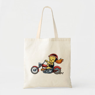 Chopper Chick -notx Tote Bag