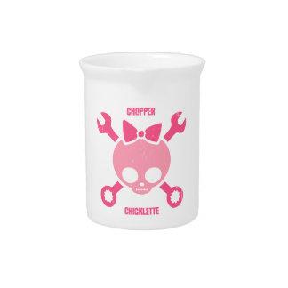 Chopper Chicklette Beverage Pitcher