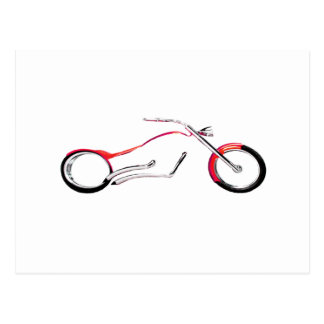 Chopper Dreaming Red The MUSEUM Zazzle Gifts Postcard