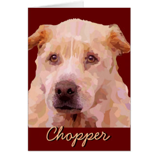 Chopper - Fences For Fido Card