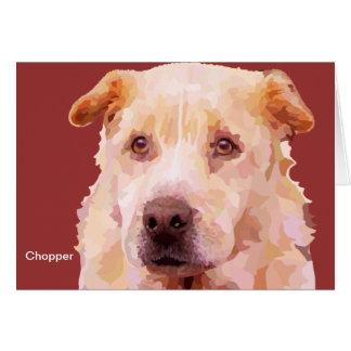 Chopper FFF Dog Greeting Card