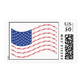 Chopper-Flag-Wave Postage