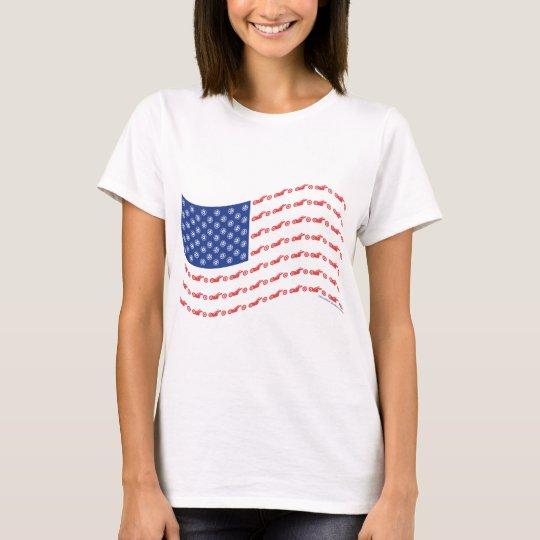 Chopper-Flag-Wave T-Shirt