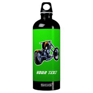 Chopper; Green Water Bottle