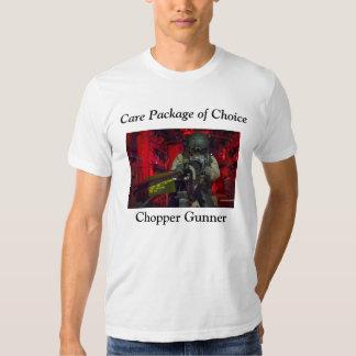 Chopper Gunner (White) T Shirt