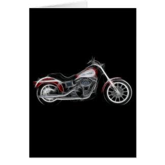 Chopper Hog Heavyweight Motorcycle Card