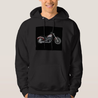 Chopper Hog Heavyweight Motorcycle Hoodie