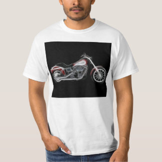 Chopper Hog Heavyweight Motorcycle T-Shirt