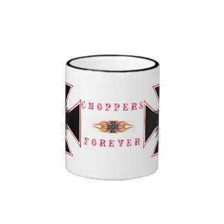 chopper maniac ringer coffee mug