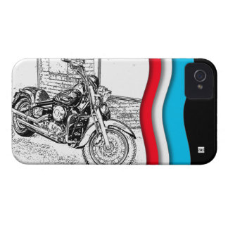 Chopper Motocycle iPhone 4 Case-Mate Case