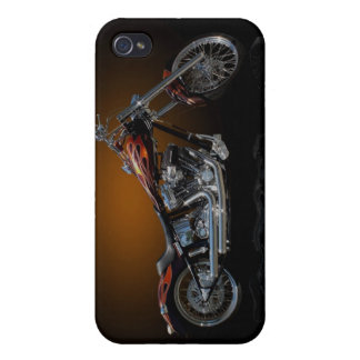 Chopper Motorcycle iPhone 4 Cases