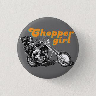 Chopper motorcycles button