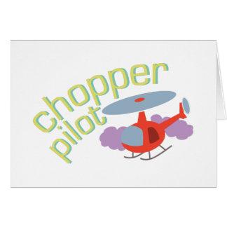 Chopper Pilot Card