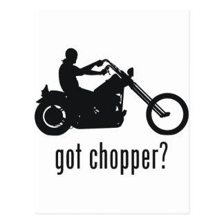 Chopper Postcard