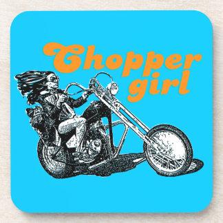 Chopper rider beverage coaster