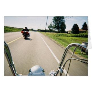 Chopper Rider Greeting Card