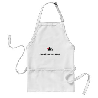 Chopper Riding Hero Adult Apron