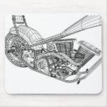 Chopper_Wire02 Tapete De Ratones
