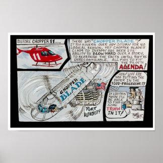 Chopperblade. Poster