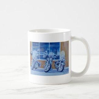 Choppers Classic White Coffee Mug