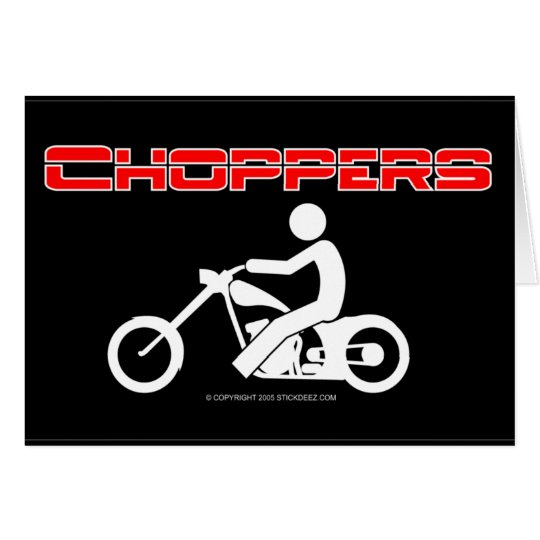 Choppers-color Card