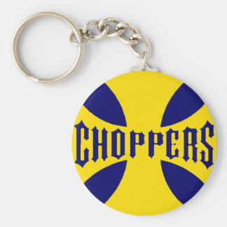 CHOPPERS YELLOW KEYCHAIN