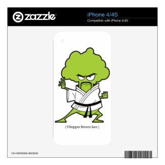 Choppin_Brocco_Lee_Tee iPhone 4S Decals