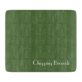 Chopping Broccoli Cutting Board