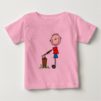 Chopping Wood Stick Figure Tshirts and Gifts