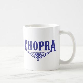 Chopra Classic White Coffee Mug