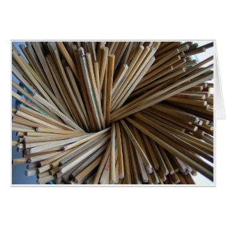 Chopsticks Card