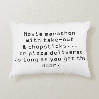 'Chopsticks' Cotton Accent Pillow