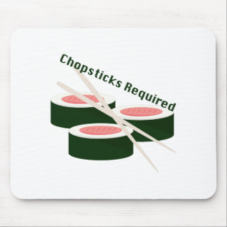 Chopsticks Required Mouse Pad