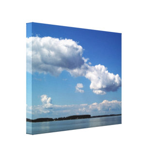 Choptank off the Chesepeake Bay, Maryland Photo Canvas Print